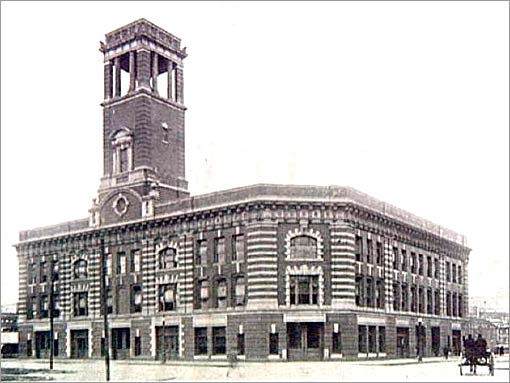 AIR Historical :: Providence Central Fire Station